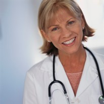 Picture of smiling doctor